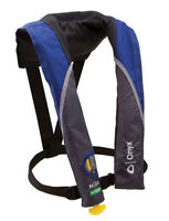 Onyx M 24 In-Sight Inflatable Life Jacket Personal Flotation Device PFD Blue