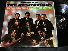 Where We're AT! LP featuring THE HESITATIONS Cleveland Soul Group LP KAPP 1968