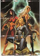 2011 DANGEROUS DIVAS WOMEN OF MARVEL COMIC TRADING CARD SET , X MEN