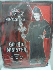 HIDDEN ILLUSIONS KIDS' COSTUMES GOTHIC MINISTER SIZE: 4-6 ROBE