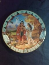 Vintage Decorative Plate The Hamilton Collection 1996 Seasons Of Love