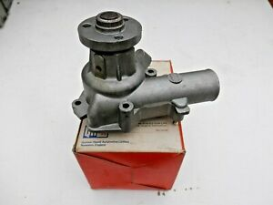FIAT 124 1200cc 1966-75 SEAT 124 1969- Water Pump Quinton Hazell ref QCP571