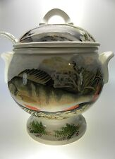 Portmeirion Compleat Angler Soup Tureen With Ladle