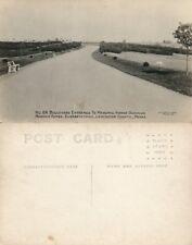 Elizabethtown Pa Masonic Homes Lancaster Boulevard Vintage Photo Postcard Rppc