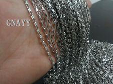 GNAYY 5meter stainless steel Silver Box chain Jewelry Finding Marking Thin 2.5mm