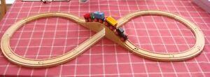 BRIO FIGURE 8 - 21 piece Train & Track Starter Set # 33125 / 33025 - USED