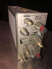 Tekronix Dual Trace Amplifier Module Unit Model 7a18