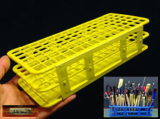 M01165 MOREZMORE 90-Hole Mini Tool Brush Holder Stand Organizer Caddy Rack A60