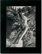 Vintage Mounted Photo - Seven Falls, South Cheyenne Canon, Colorado Springs, CO