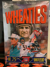 Vintage UNOPENED Wheaties Box - 1993 NFL 75th Anniversary Collectors Edition