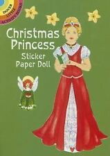 CHRISTMAS PRINCESS STICKER PAPER DOLL - NEW PAPERBACK BOOK