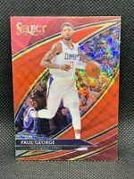 2019 Panini Select Paul George Red Wave Courtside Tmall HOT