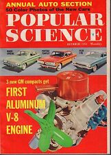 Popular Science Magazine October 1960 Aluminum V-8 Engine EX 081817nonjhe