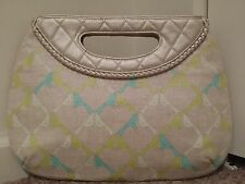 EUC-Vera Bradley SITTIN' IN A TREE Frill Clutch Style Handbag Purse