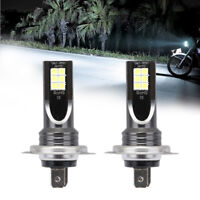 2x H7 110W 24000Lm LED Car Headlight Conversion Globes Bulbs Beam 6000K Kit