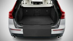 GENUINE VOLVO REVERSIBLE TEXTILE + RUBBER BOOT MAT WITH BUMPER COVER -  XC60