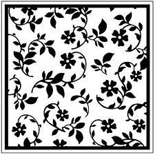 Garden Flowers 126462 Square Embossing Folder for Cardmaking, Scrapbooking, etc