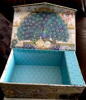 "Cardboard Musical Box Rectangular Empty 7x4x2.5"""
