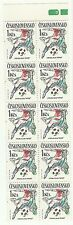Tchecoslovaquie Sport Coupe Monde Football Fifa Soccer Cup Italia ** 1990 Carnet