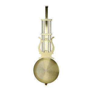 Traditional Gold Clock Pendulum Movement DIY Replacement Part Repair Kit New