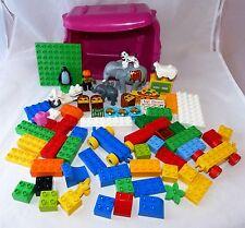 Lego  Duplo / Explore  Bausteine, Figuren, Tiere, in Box für Zirkus  (DU 2-1255)
