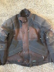 RUKKA MENS *ARMACOR STRETCH. GORE-TEX* MOTORCYCLE JACKET SIZE 54