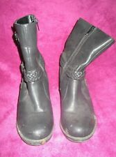 Black Ankle Boots Size 3