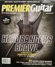 PREMIER GUITAR Headbangers Brawl Boss Fender Blackstar Keeley 1/15 FREE SHIPPING