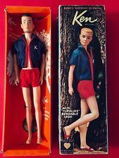 "Vintage Barbie KEN + Travel Case Exclusive for the European Market  "" 1964"