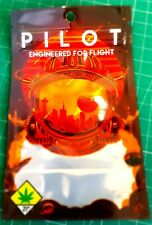 Pilot Red Mylar Bags x50 3.5g Heat Sealable Smell Proof