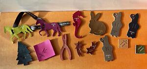 lot of 15 Hermes Petit H Mini seehorse Charms