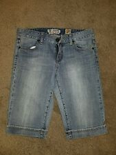 Women's Juniors C7P Chip Pepper Glenbrook Bermuda Shorts Jeans Tag Size 7