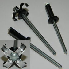 100 Stück  Blindnieten 4x16 mm Alu//Stahl Flachkopf   Rivet/'s