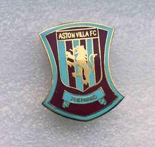 Rare Football Soccer pin ASTON VILLA Football Club BIRMINGHAM ENGLAND enamel