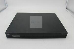 Used Cisco ISR4321/K9 ISR 4321 (2GE,2NIM,4G FLASH,4G DRAM,IPB) Router
