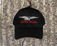 Moto Guzzi Eagle Cap/Hat...Sandwich Bill BLACK and KHAKI  CP85