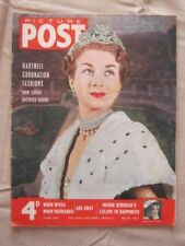 PICTURE POST - 16 MAY 1953 - DESIGNED FOR THE ABBEY - ROBES FOR THE CORONATION