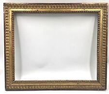 Ancien cadre en bois sculpté doré frame époque Louis XVI Feuillure: 47X39cm