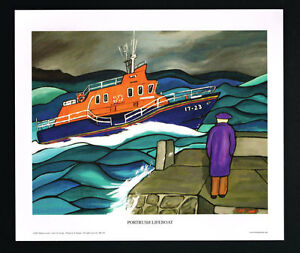 Portrush Lifeboat/RNLI/Irish Art Group/Fine Print/Martin Laverty/N Ireland