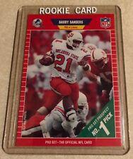 Barry Sanders 1989 Pro Set Rookie RC#494