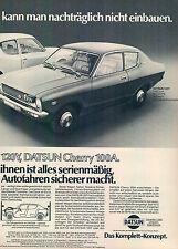 DATSUN - 120y-Cherry 100a-1975 - publicité-publicité-genuineadvertising-NL - Correspondance