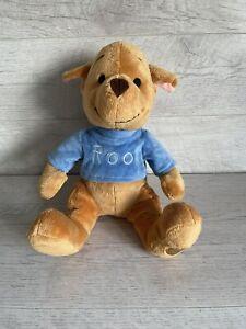 "Genuine DISNEY STORE Winnie the Pooh Roo Kangaroo Large Soft Plush Floppy 14"""
