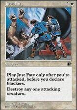 [4x] Just Fate [x4] Portal Second Age Near Mint, English -BFG- MTG Magic