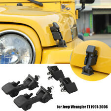 Locking Hood Latch Catch Latches Amp Bracket Parts For Jeep Wrangler Tj 1997 2006 Fits 1997 Jeep Wrangler