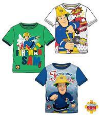 T Shirt Feuerwehrmann Sam  Kurzarm tolle gro�Ÿe Motive Gr 98 104 110 116 128