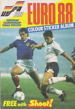 Shoot Euro 88 Colour sticker album complete