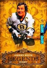 UD ARTIFACTS 2008 JOHNNY BUCYK #144 BOSTON BRUINS SUPERSTAR RARE LEGENDS /100