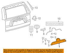 TOYOTA OEM 10-16 4Runner Liftgate Tailgate Hatch-Handle Panel 7681135270