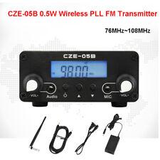 CZE-05B 0.5W Wireless PLL FM Transmitter 76MHz~108MHz Radio Stereo Antenna Home