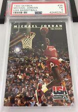 Michael Jordan Usa Basketball 1992 Skybox Nba Rookie Card #38 Psa 5